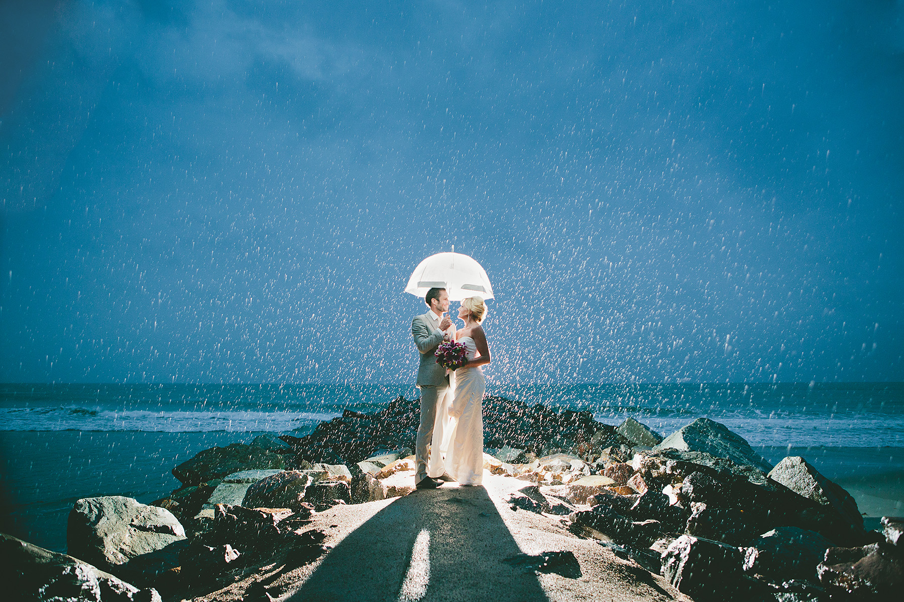 Noosa Wedding Photographers Rainy Wedding 1