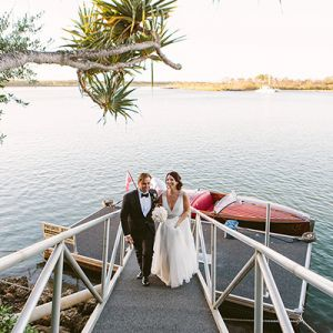 Megan & Cameron's Noosa & Rickys wedding